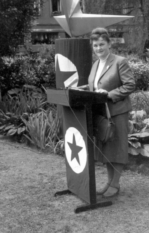 Einweihung des Esperanto-Denkmals, Linz 1965
