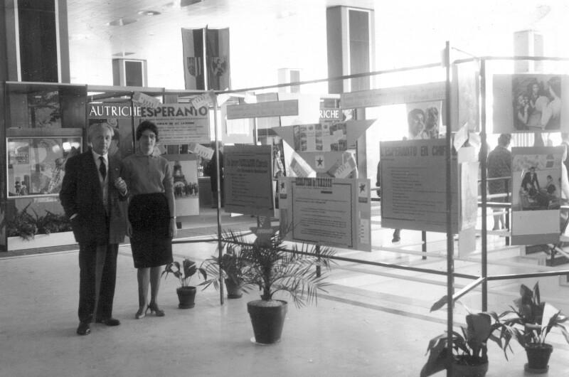 Esperanto-Ausstellung, Nizza 1961