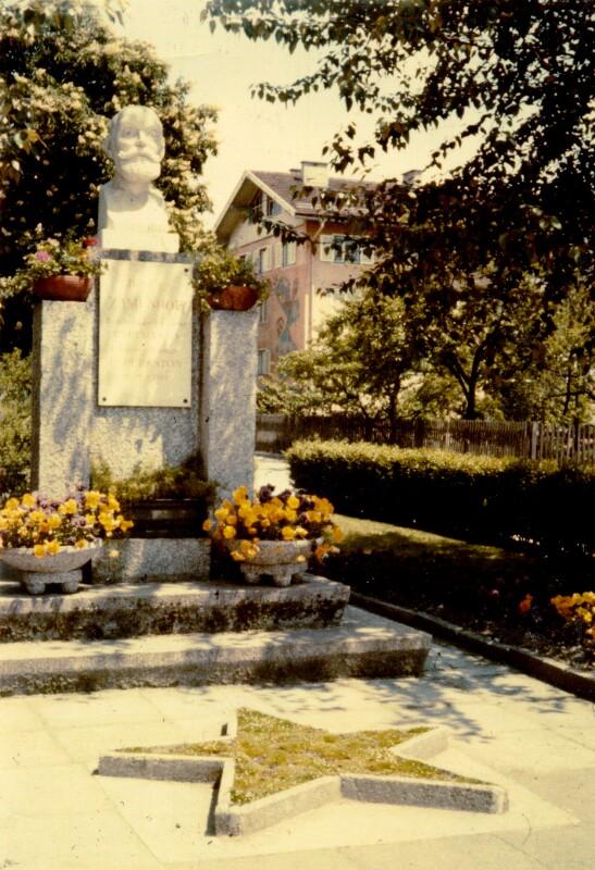 Zamenhof-Denkmal, Wörgl 1962