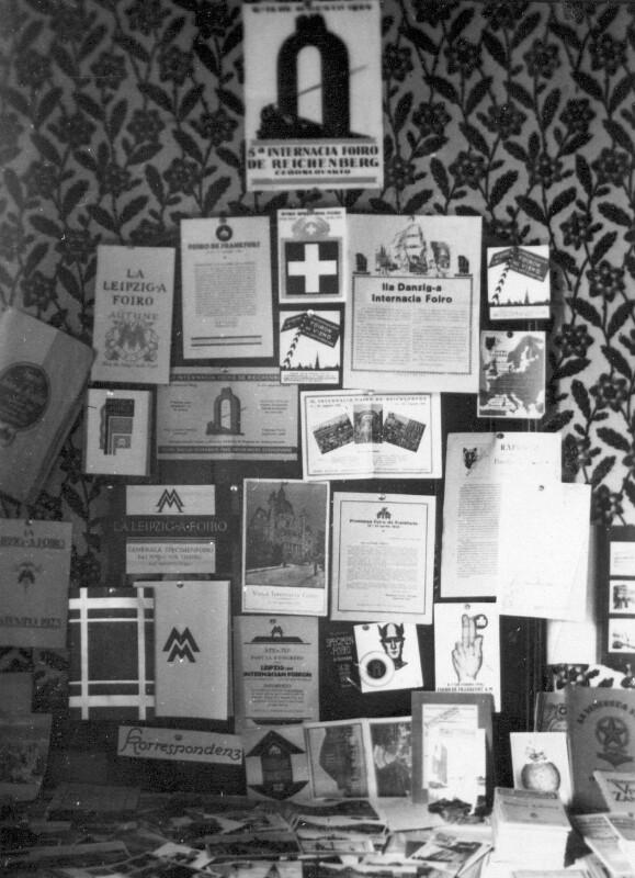 Esperanto-Ausstellung, Ölsnitz 1926