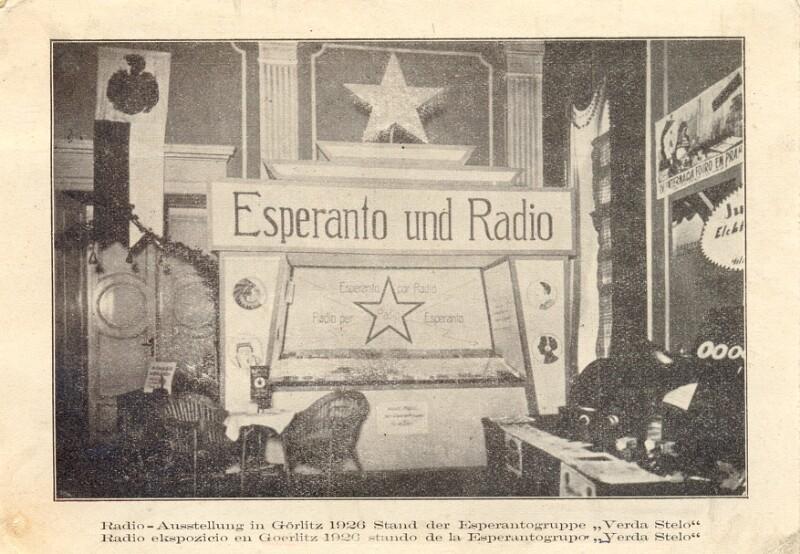 Ansichtskarte: Radio-Ausstellung, Görlitz 1926