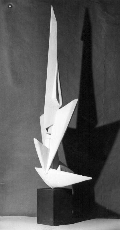 Modell für ein Esperanto-Denkmal, Linz 1964