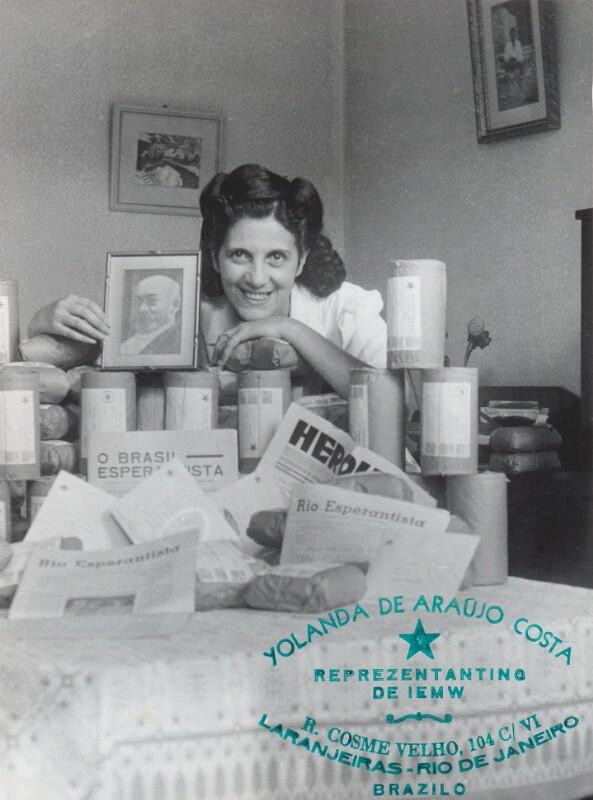 Yolanda de Araújo Costa, Rio de Janeiro 1950