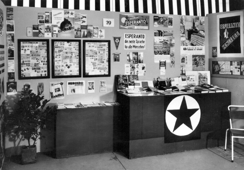 Esperanto-Ausstellung auf der Grazer Frühjahrsmesse, 1959