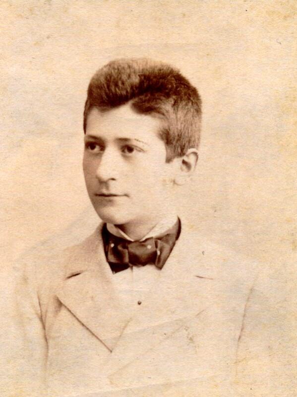 Hugo Steiner, um 1895