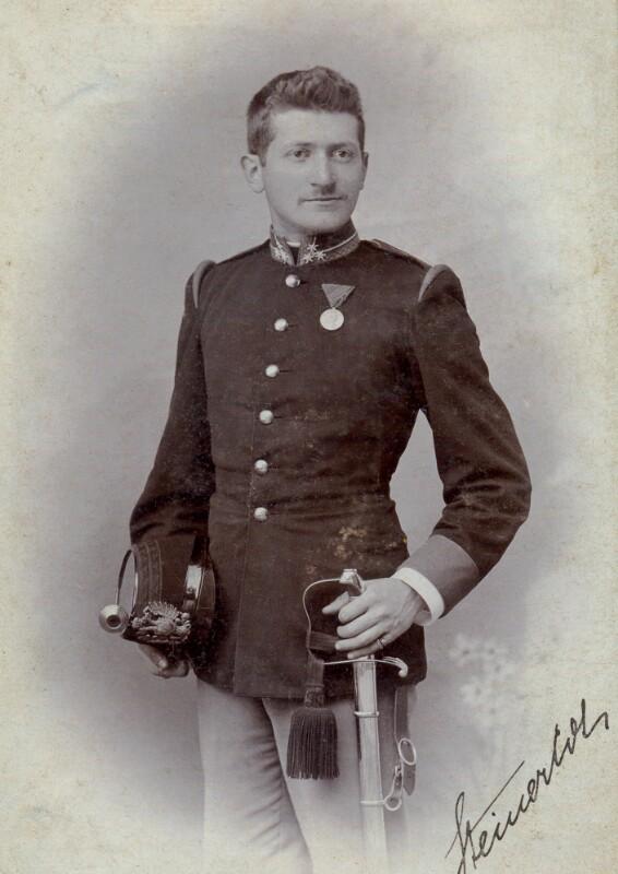 Hugo Steiner, um 1900