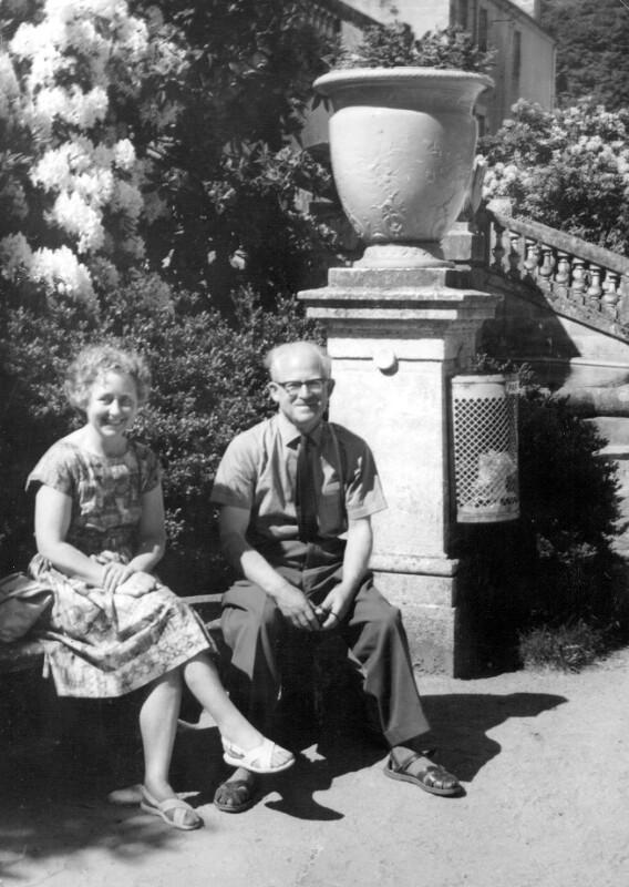 Ehepaar Brownlee, Frankreich 1964