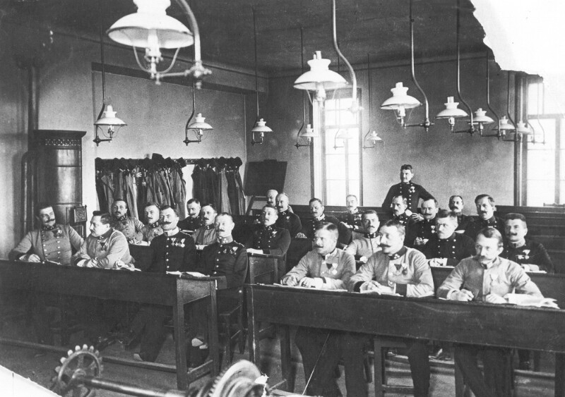 Esperanto-Kurs für Offiziere und Militärbeamte, Wien 1912