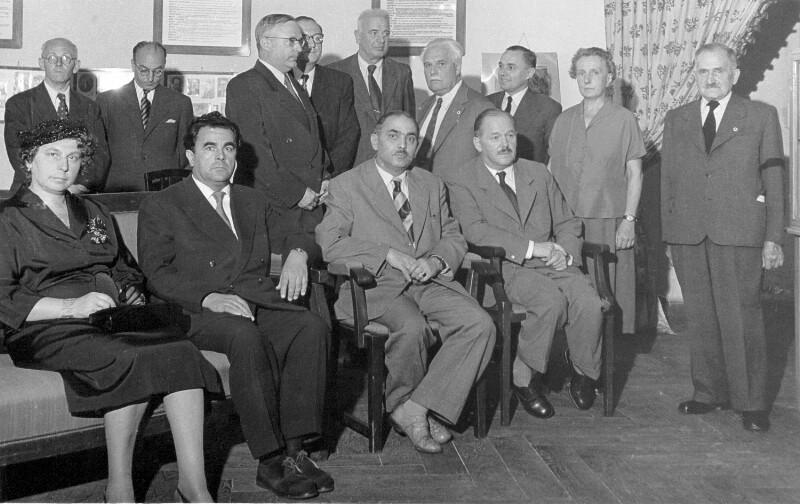 Trauerfeier für Karl Dworschak, Wien 1955