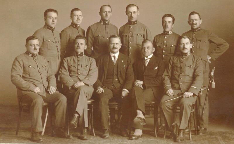 Esperanto-Kurs für Gendarmen, Wien 1927