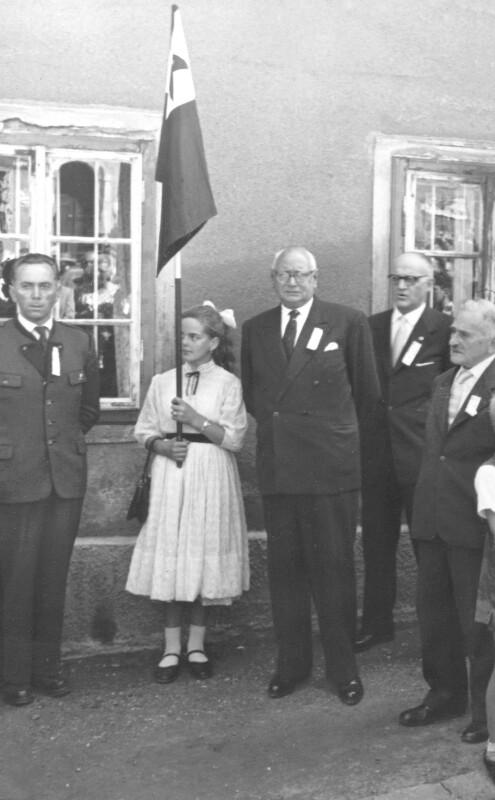 Einweihung der Esperanto-Straße, Knittelfeld 1957