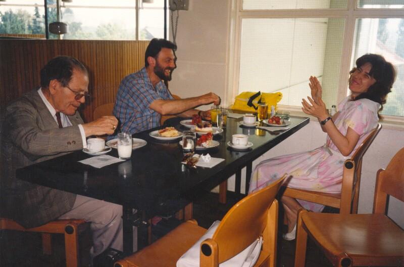 Esperanto-Redaktion des ORF, Wien um 1985