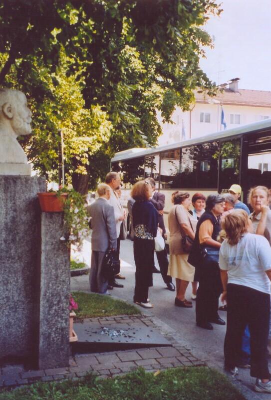 Wiedereinweihung des Zamenhof-Denkmals, Wörgl 2008