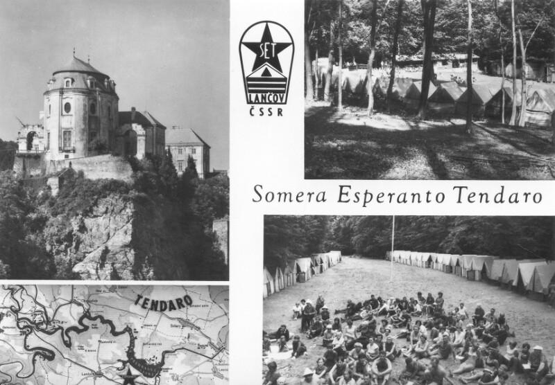 Ansichtskarte: Somera Esperanto-Tendaro, Lančov