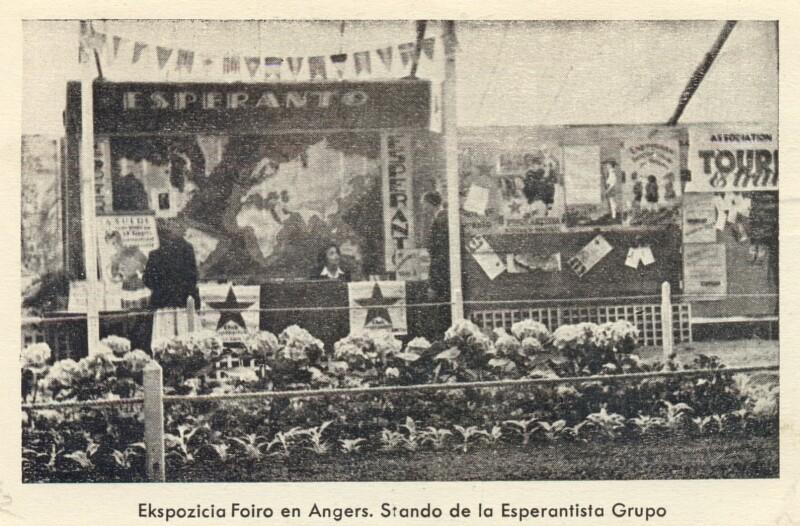 Ansichtskarte: Ekspozicia Foiro en Angers