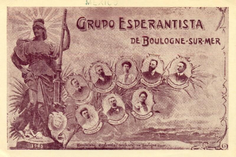 Ansichtskarte: Grupo Esperantista de Boulogne-sur-mer