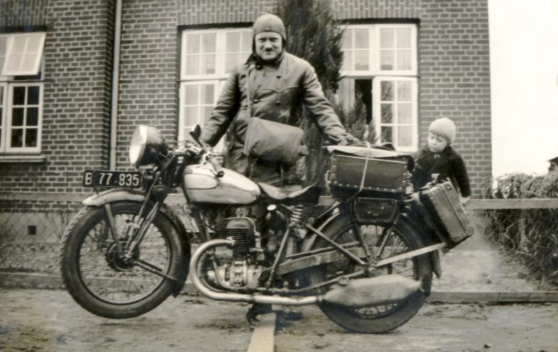 Alois Schneider auf seiner Nordlandreise 1937