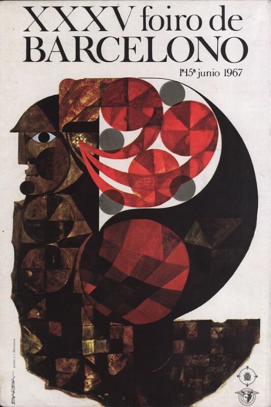 Aufsteller: XXXV. Foiro de Barcelono : 1a-15a junio 1967