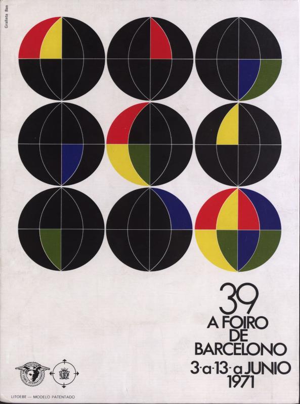 Aufsteller: 39. Foiro de Barcelono : 3a - 13a junio 1971