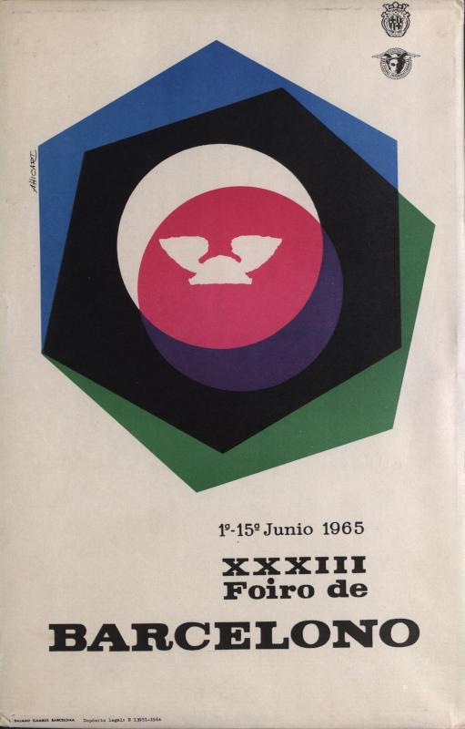 Aufsteller: XXXIII. Foiro de Barcelono : 1a - 15a junio 1965