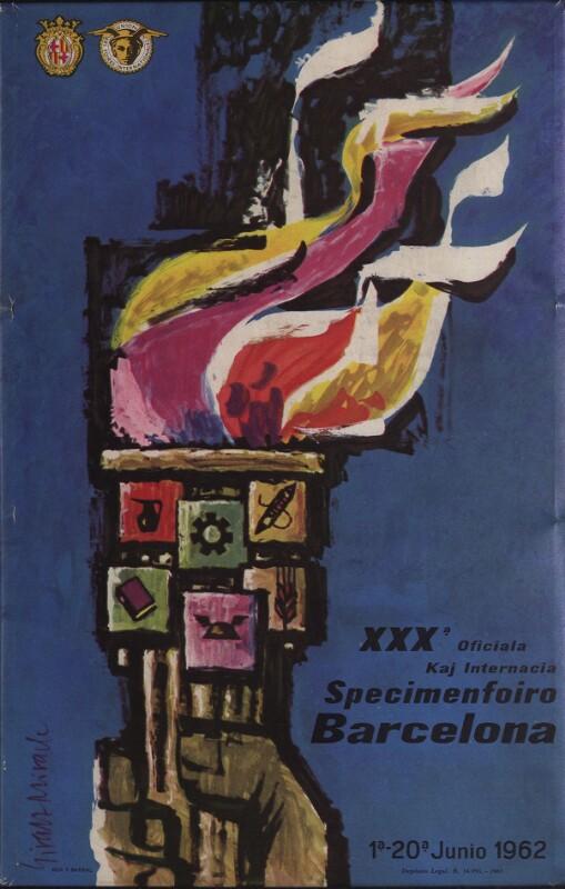 Aufsteller: XXXa Oficiala kaj Internacia Specimenfoiro Barcelona : 1a-20a junio 1962