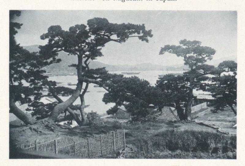 Ansicht von Nagasaki in Japan.