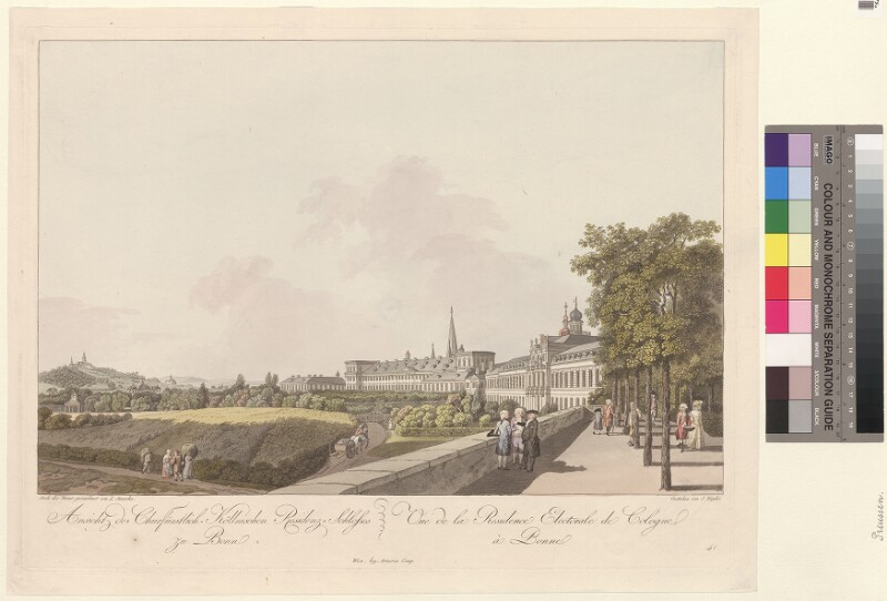 Ansicht des Churfürstlich-Köllnischen Residenz-Schlosses zu Bonn