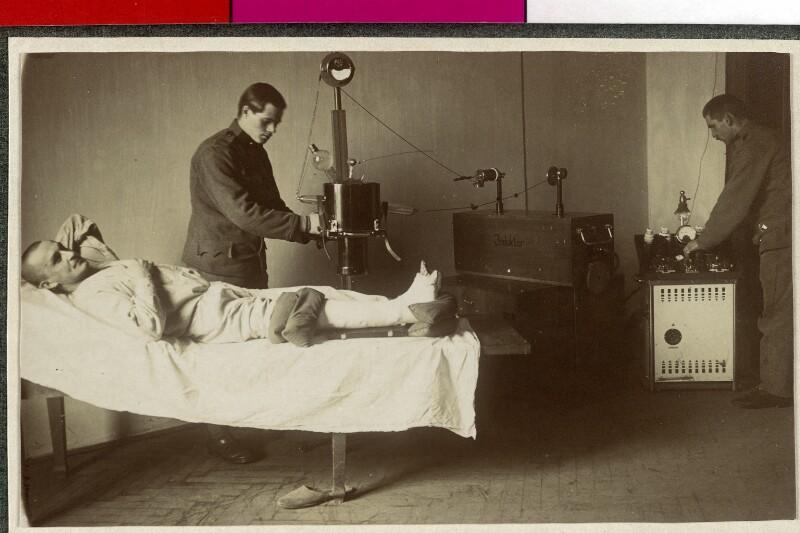 Feldspital im Ersten Weltkrieg von Semlitsch, Leopold