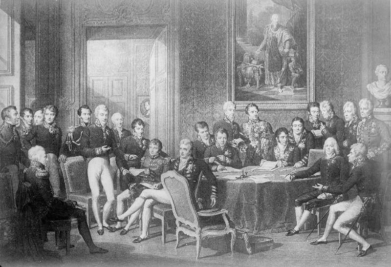Wiener Kongress 1814 - 1815 von Isabey, Jean Baptiste