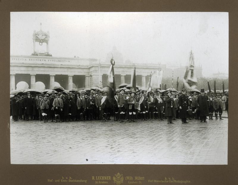 Eucharistischer Kongress in Wien von R. Lechner (Wilh. Müller), Wien