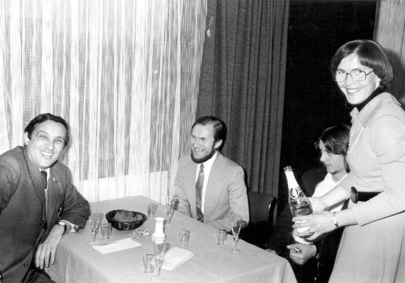 Weinverkostung im Arosa-Hotel, Paderborn 1976