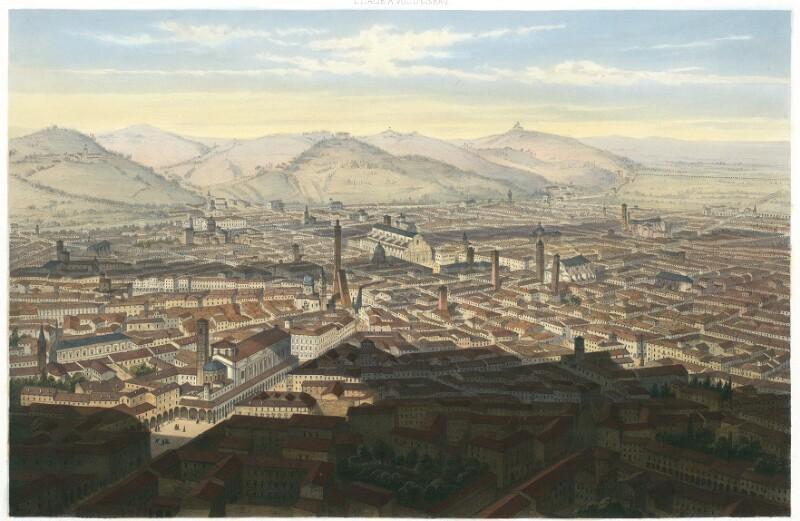 Bologne. Vue prise au dessus de l'Academie des Beaux-Arts von Schultz, C.
