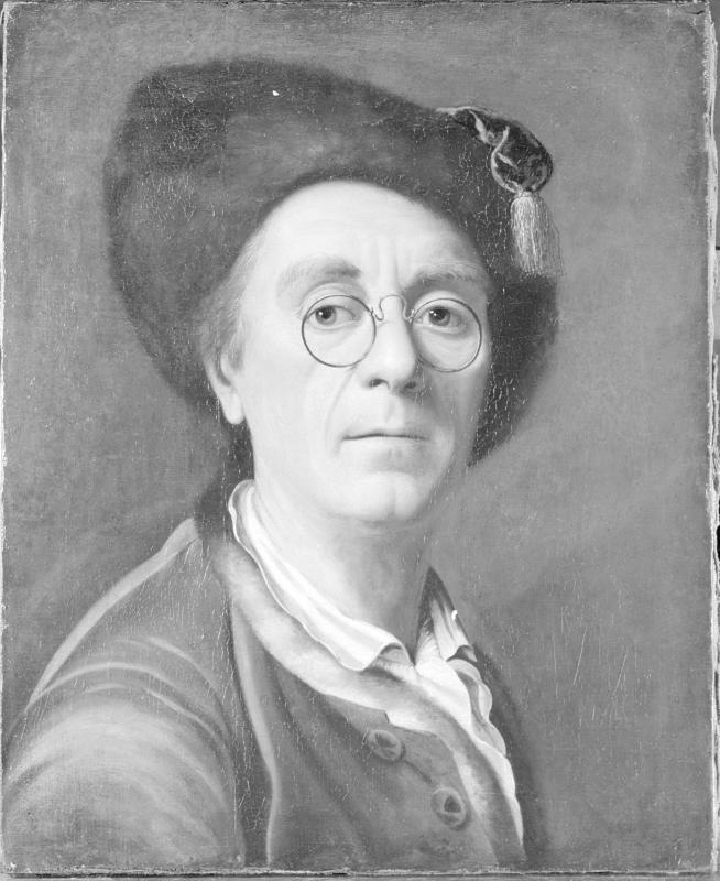 Johann Christian Fiedler, Selbstporträt von Fiedler, Johann Christian