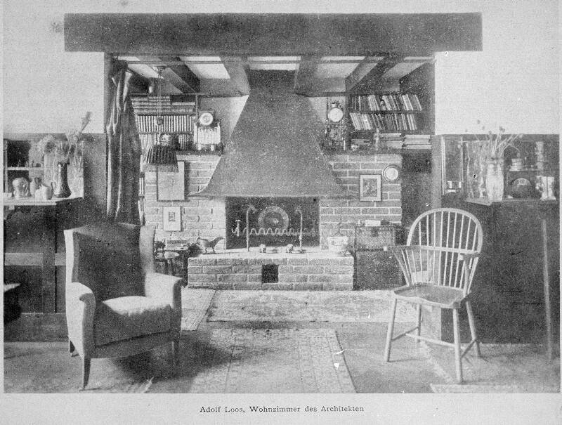 Wohnzimmer von Adolf Loos