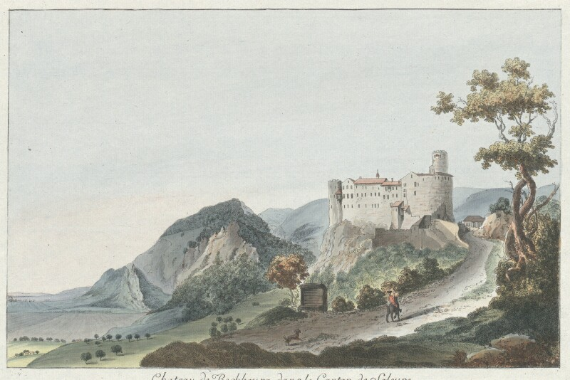 Chateau de Bechbourg, dans le Canton de Soleure. von Wyss, Caspar Leontius