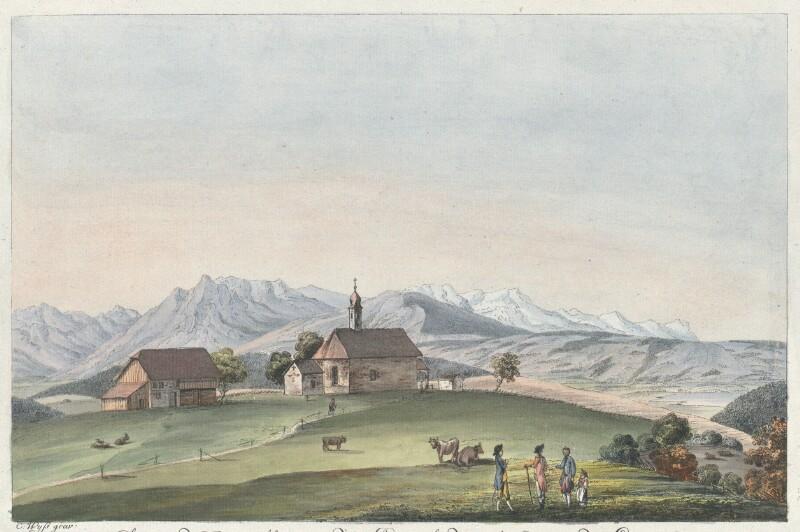 Champ de Bataille près de Sempach, dans le Canton de Lucerne von Wyss, Caspar Leontius