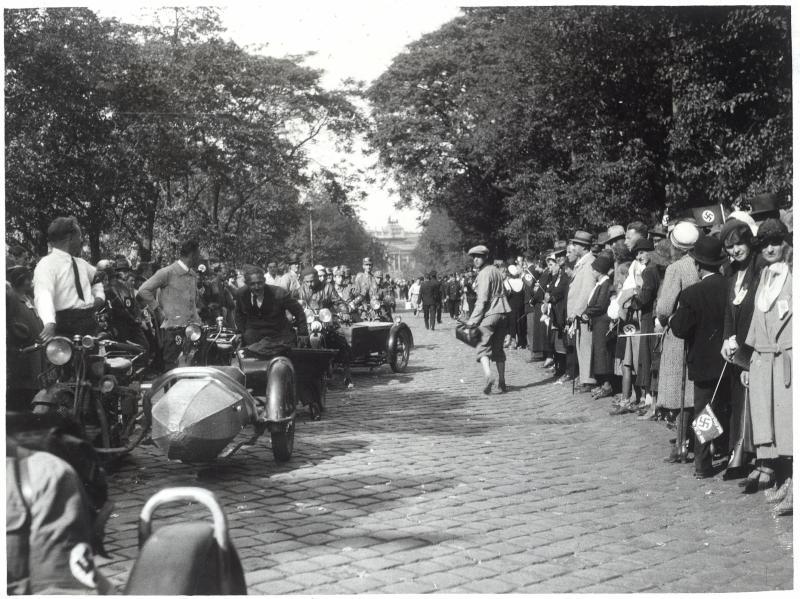 Gauparteitag der NSDAP in Wien von Hilscher, Albert