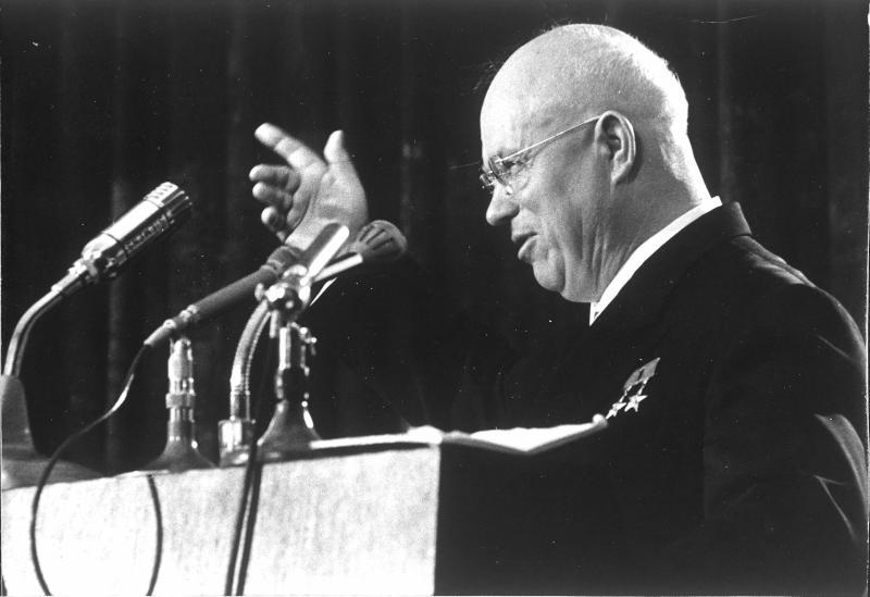 Staatsbesuch von Chruschtschow von Kofler, Herbert