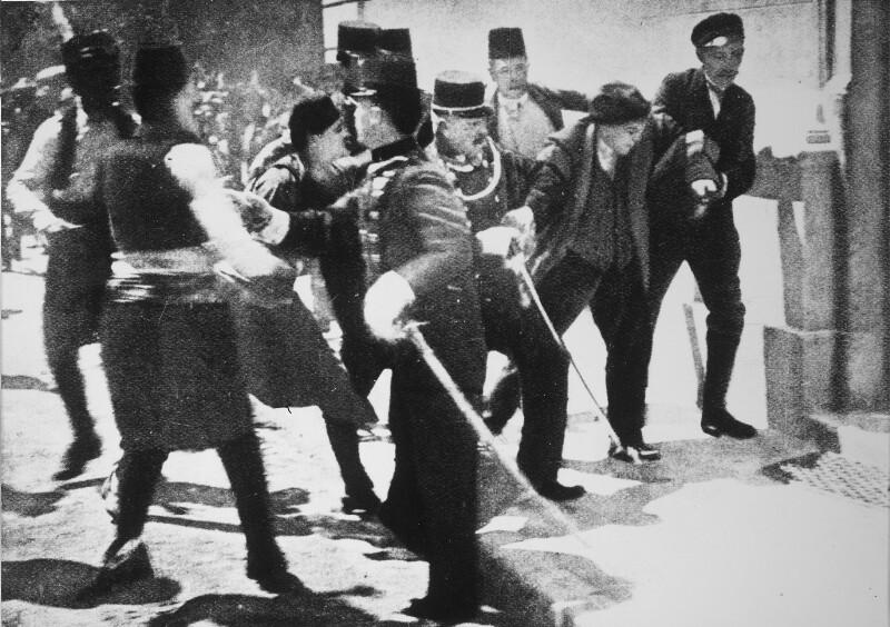 Das Attentat in Sarajewo von Hilscher, Albert