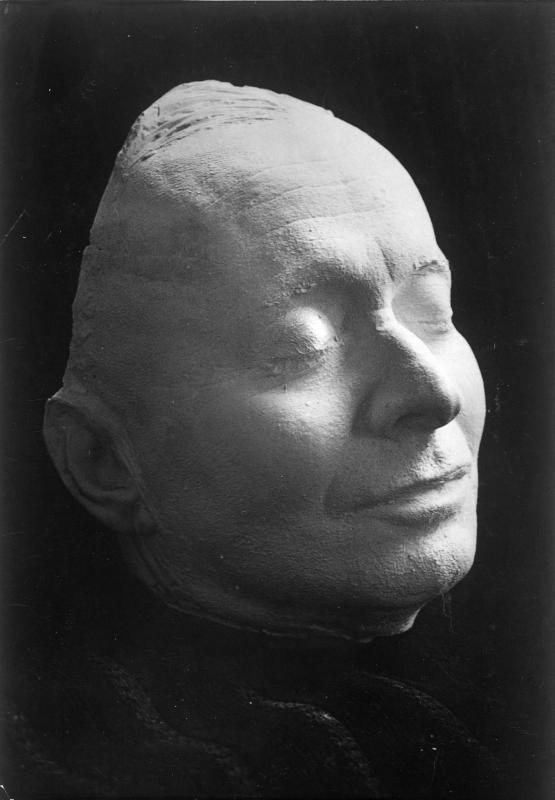 Totenmaske von Karl Kraus