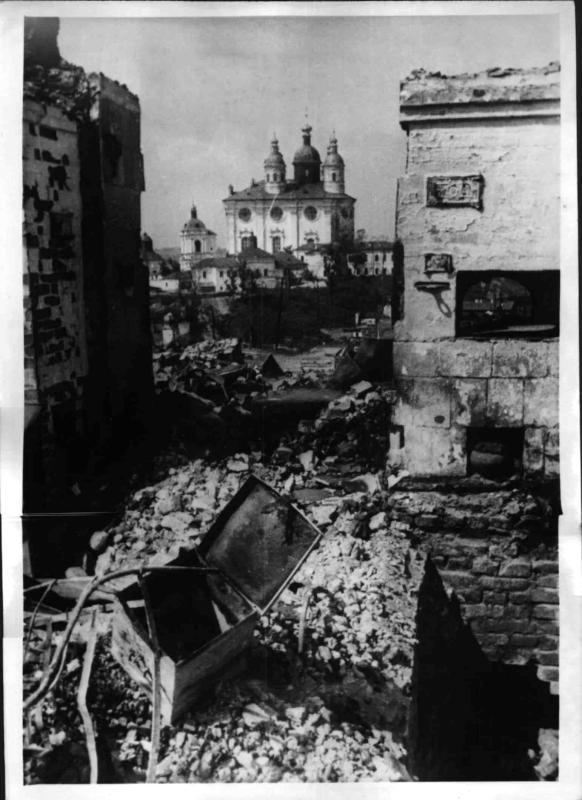 Smolensk nach der Schlacht von Weltbild
