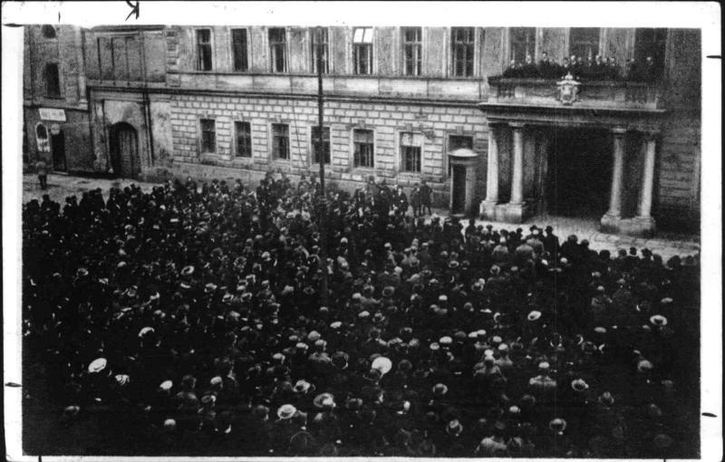 Proklamierung der deutschösterreichischen Republik in Graz