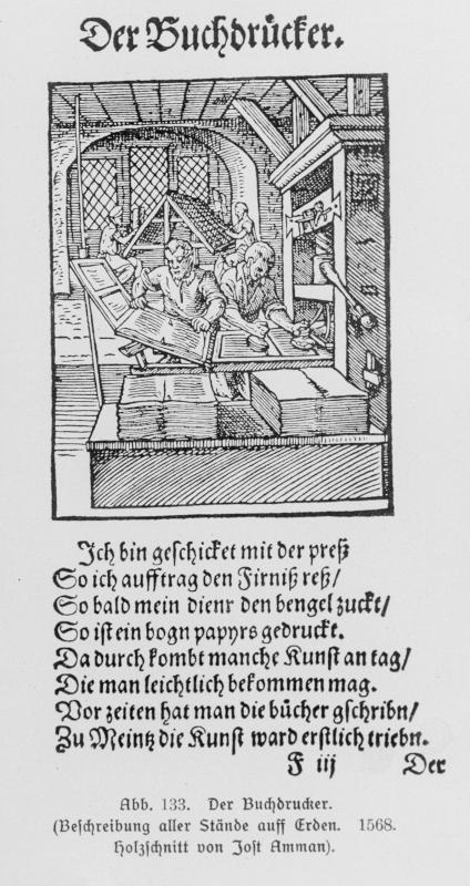 Der Buchdrucker von Ammann, Jost