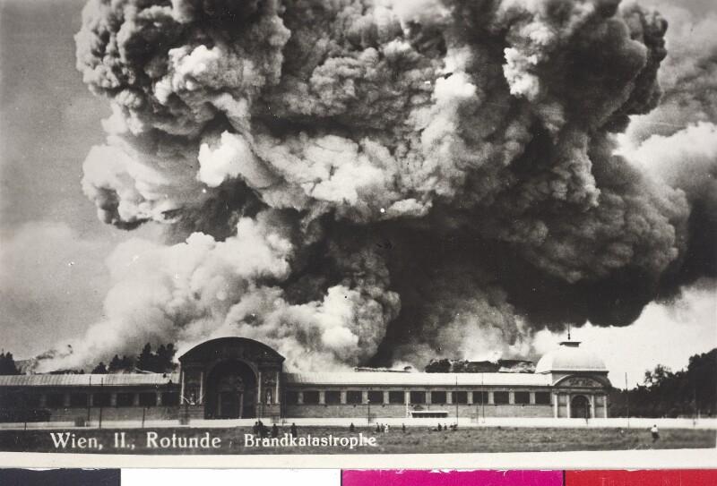 Brand der Wiener Rotunde