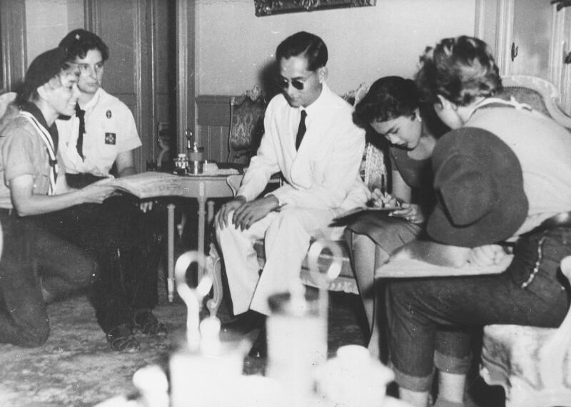 Das thailändische Königspaar in Wien von Cermak, Alfred