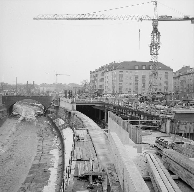 Wien 12, U-Bahnbau von Simoner, Otto