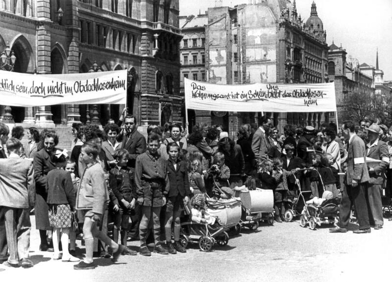 Obdachlosendemonstration
