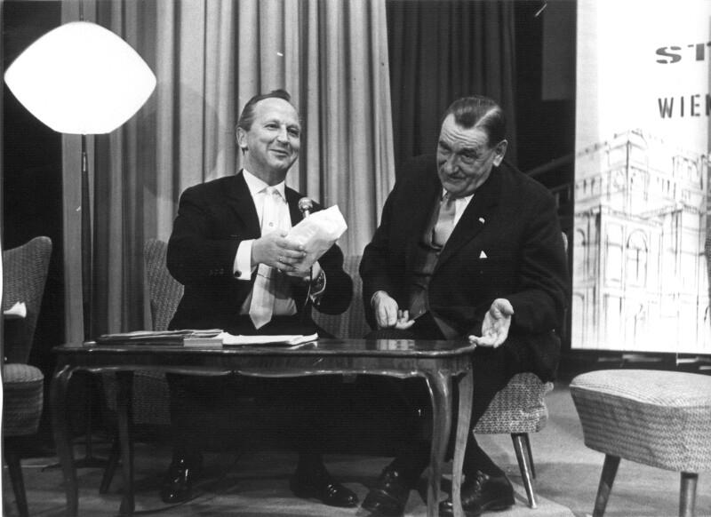 Bürgermeister Marek und Walter Niesner von Cermak, Alfred