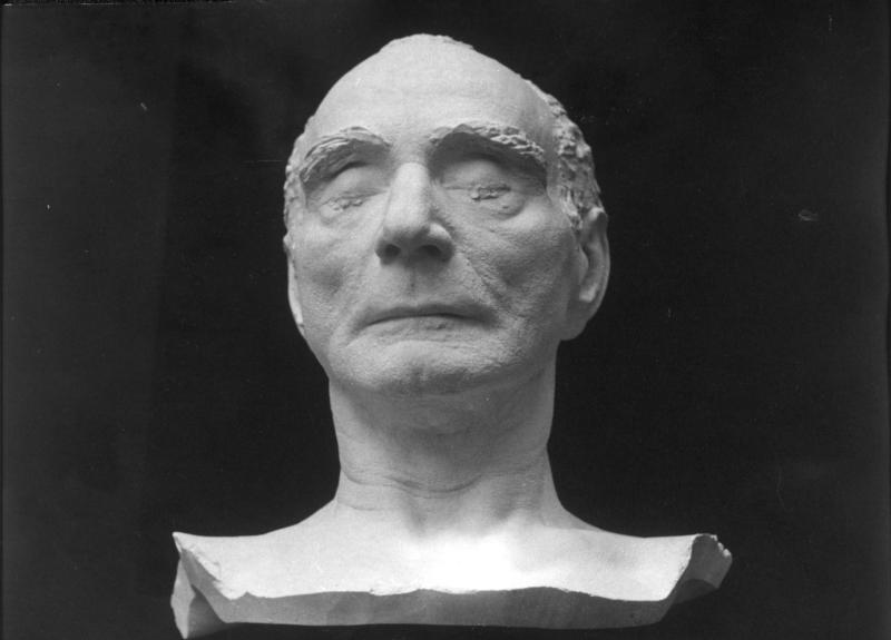 Totenmaske von Franz Jonas von Kern, Fritz