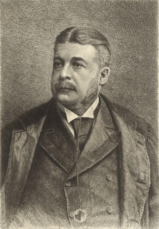 Bildnis Arthur Sullivan (1842 - 1900)